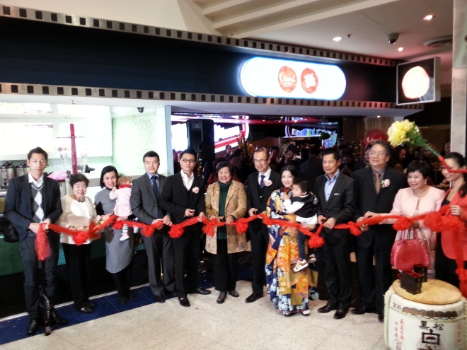 Umi Sushi Express' Official Opening [Backpost]